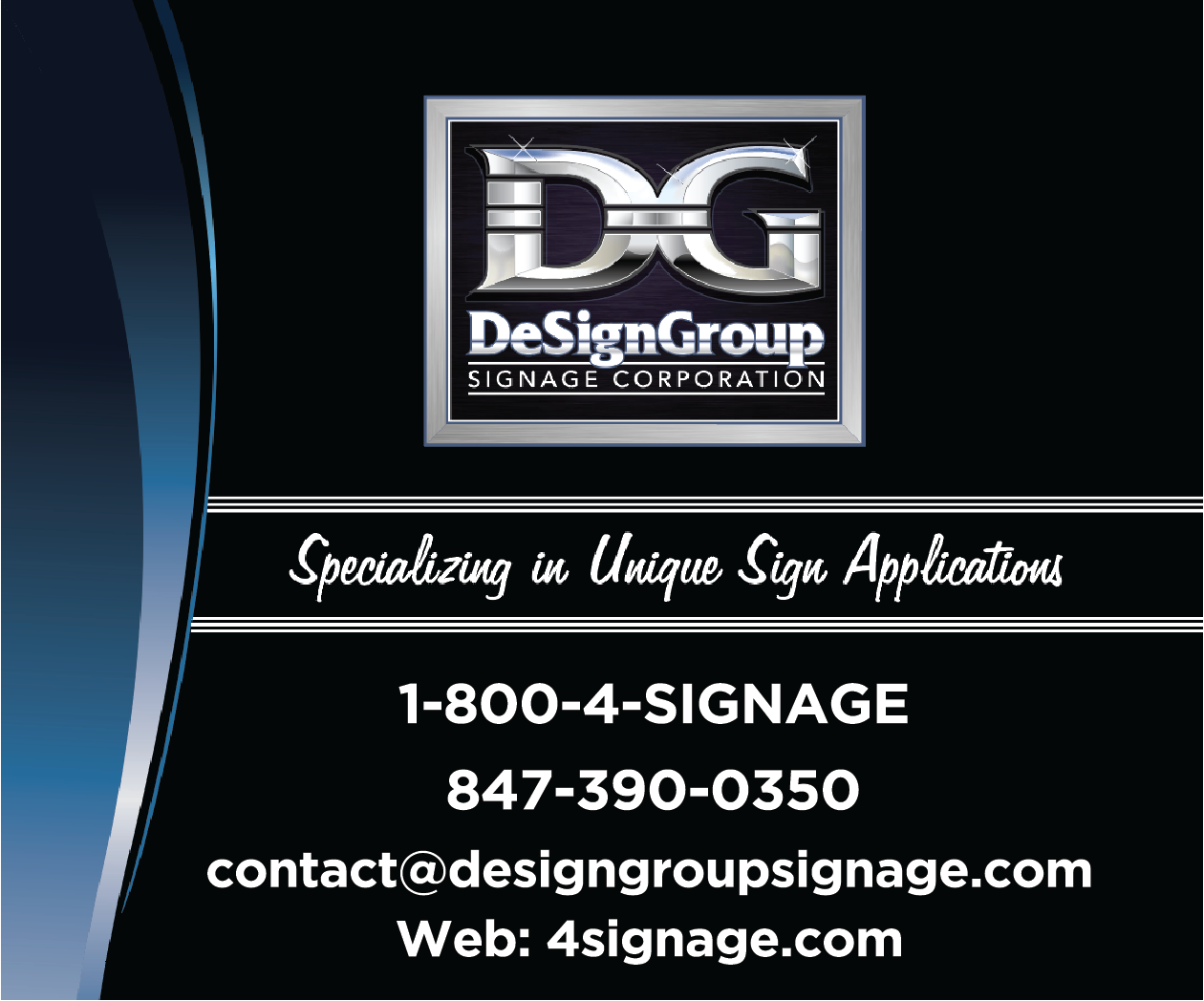DeSign Group Signage Corp.