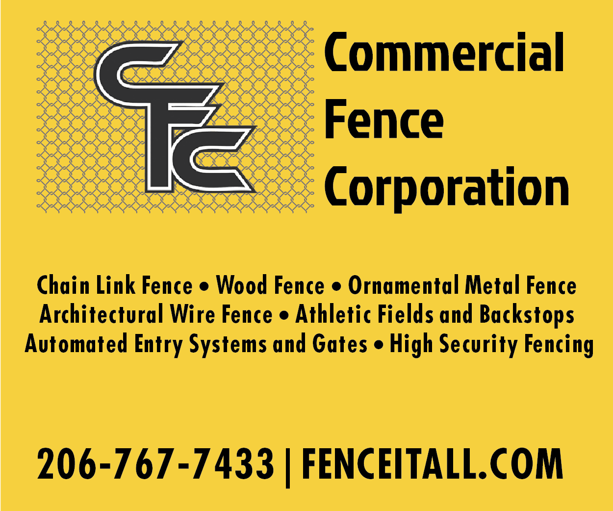 Commercial Fence Corp.